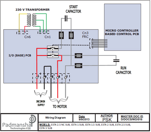 simplex pump control panel wiring diagram wiring diagram and on single phase water pump control panel wiring diagram